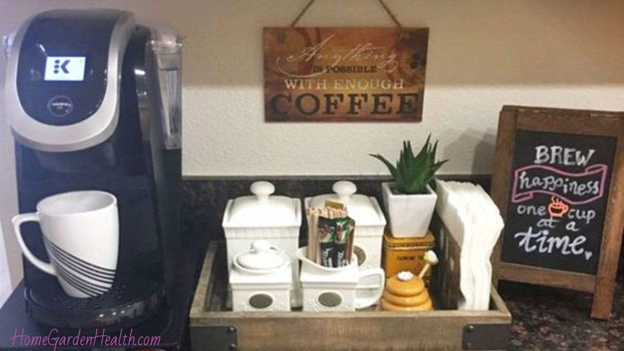 Diy Coffee Station Ideas Build The Most Awesome Home