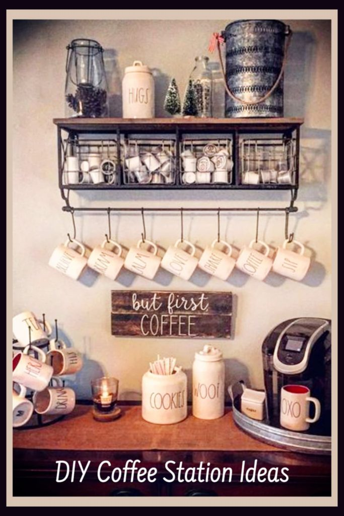 Diy Coffee Station Ideas Build The Most Awesome Home Coffee Bar