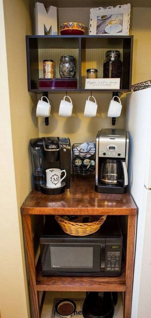 Wondrous Diy Coffee Station Ideas Build The Most Awesome Home Download Free Architecture Designs Grimeyleaguecom